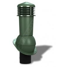 125/110 h500 неизолированный зеленый К88-5 с проходным элементом для мягкой и фальцевой кровли