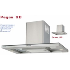 Shindo Pegas 600 inox/glass вытяжка кухонная