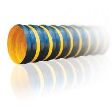 Texonic PVC-R-350-P- 80 черно-желтый с повышенной устойчивостью к внешним нагрузкам шланг широкого спектра применения