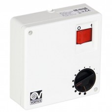 SCNR 5 регулятор скорости накладной для нереверсивных вентиляторов 5-ти ступенчатый вкл/выкл