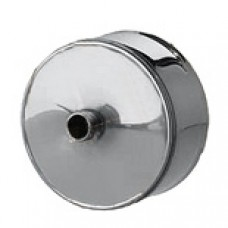 Заглушка d110 с конденсатоотводом из нержавеющей стали 1 мм